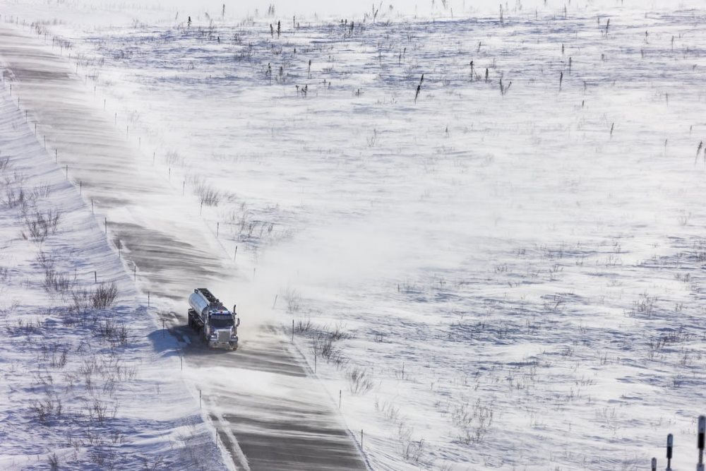 шоссе далтон аляска