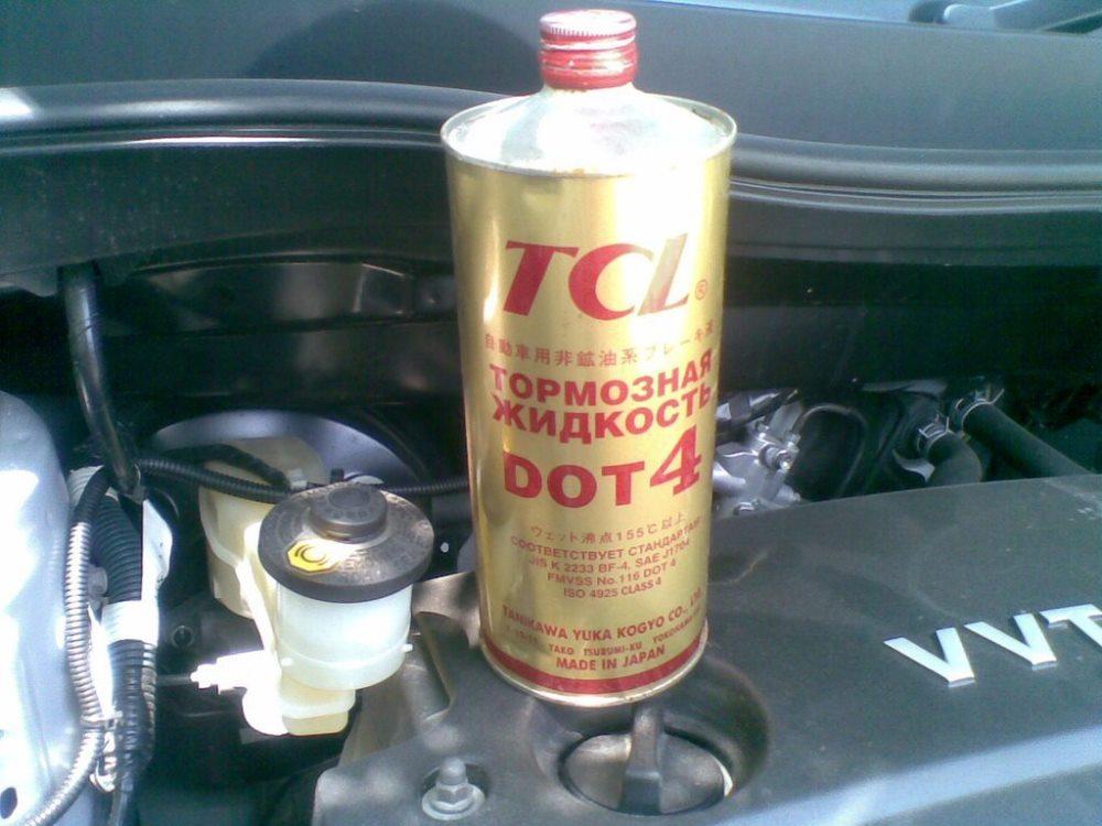 тормозная жидкость TCL DOT 4