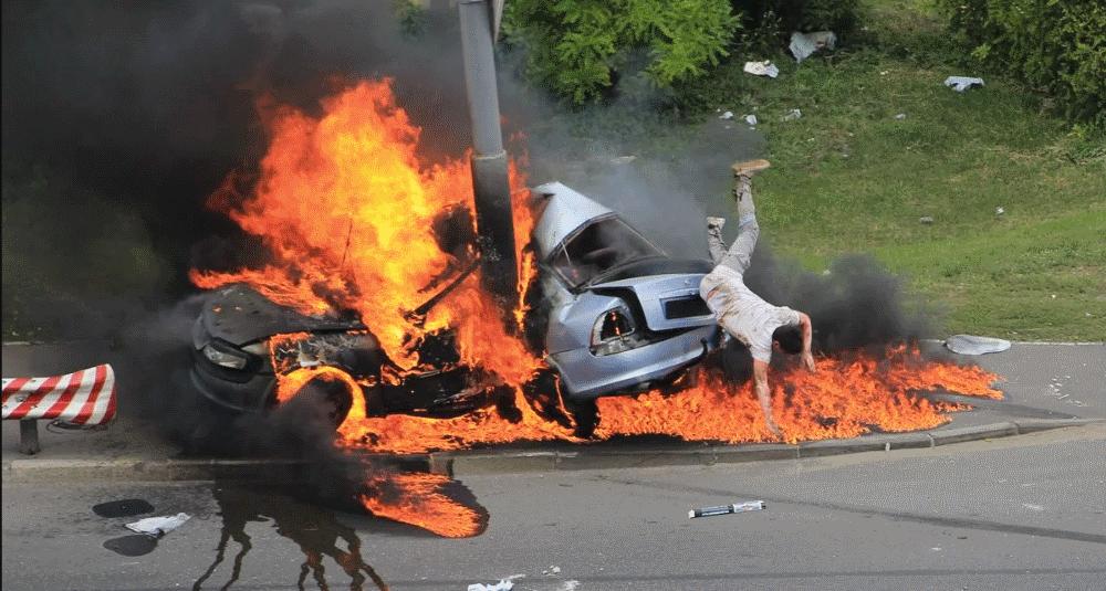 жуткие аварии в мире