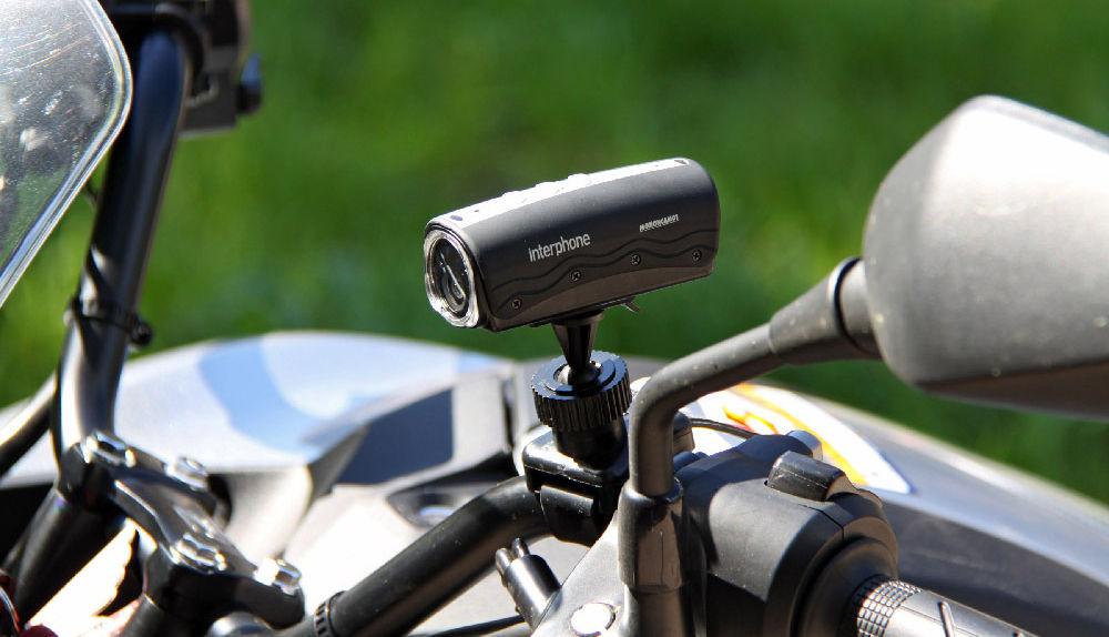 Экшен-камера для мотоцикла