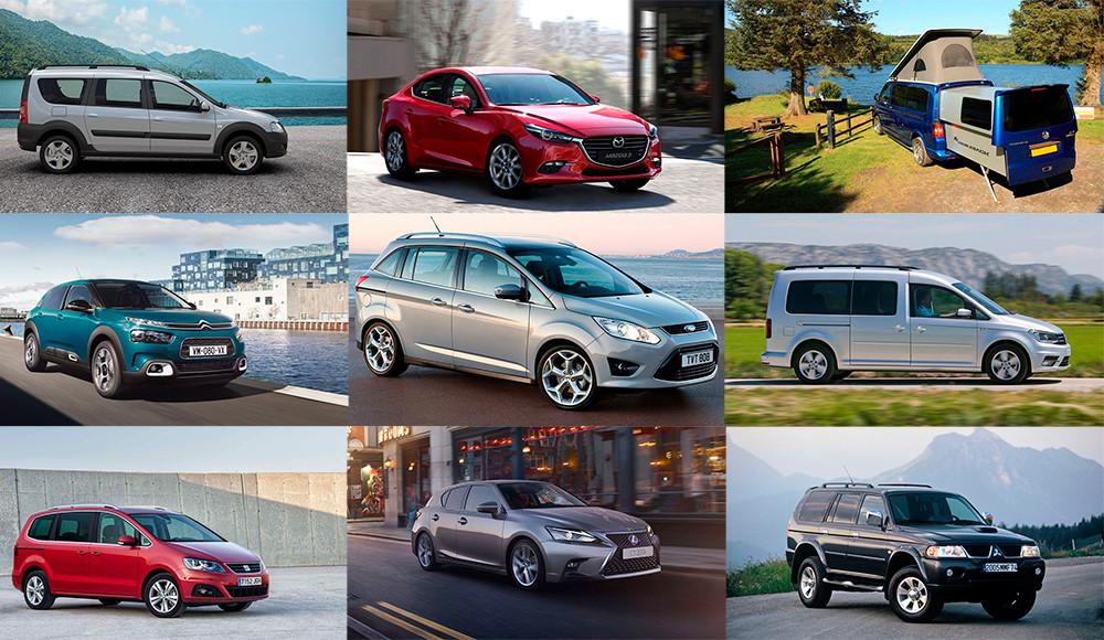 Лучшие семейные автомобили