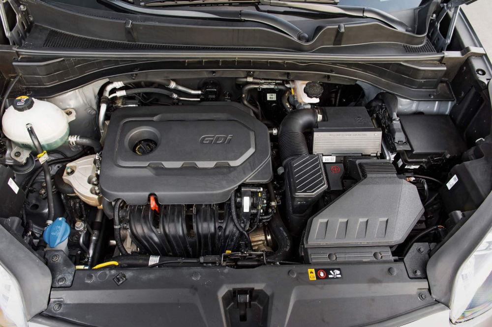Двигатель Sportage