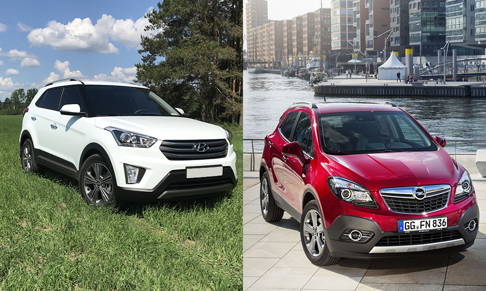 Сравнение Hyundai Creta и Opel Mokka