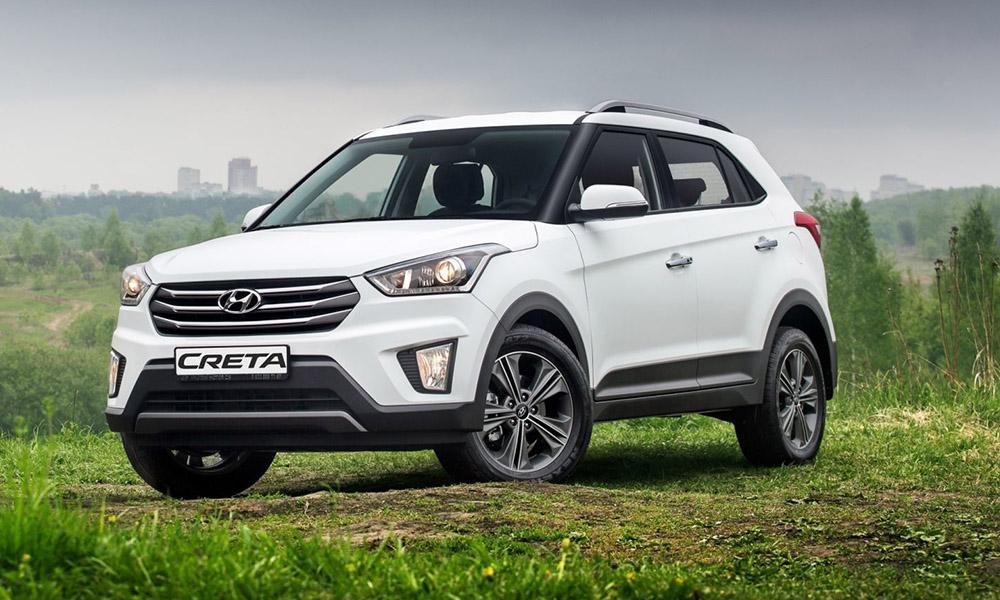 Hyundai Creta на трассе