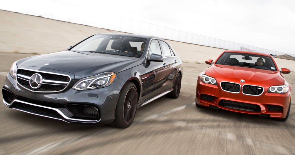 Mercedes против BMW