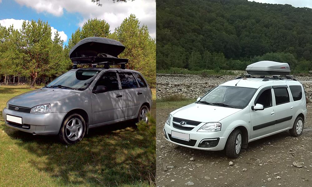 Сравнение Lada Largus и Lada Kalina